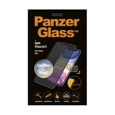 PanzerGlass Privacy Pro zaščitno steklo za iPhone Xr/11, Cam Slider, Edge-to-Edge, črno
