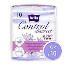 Bella Control Discreet Super,10 ks × 4