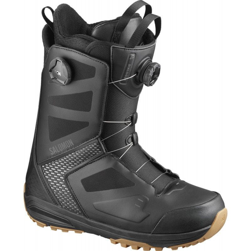 Salomon DIALOGUE Focus Boa Wide Bk/Bk/G