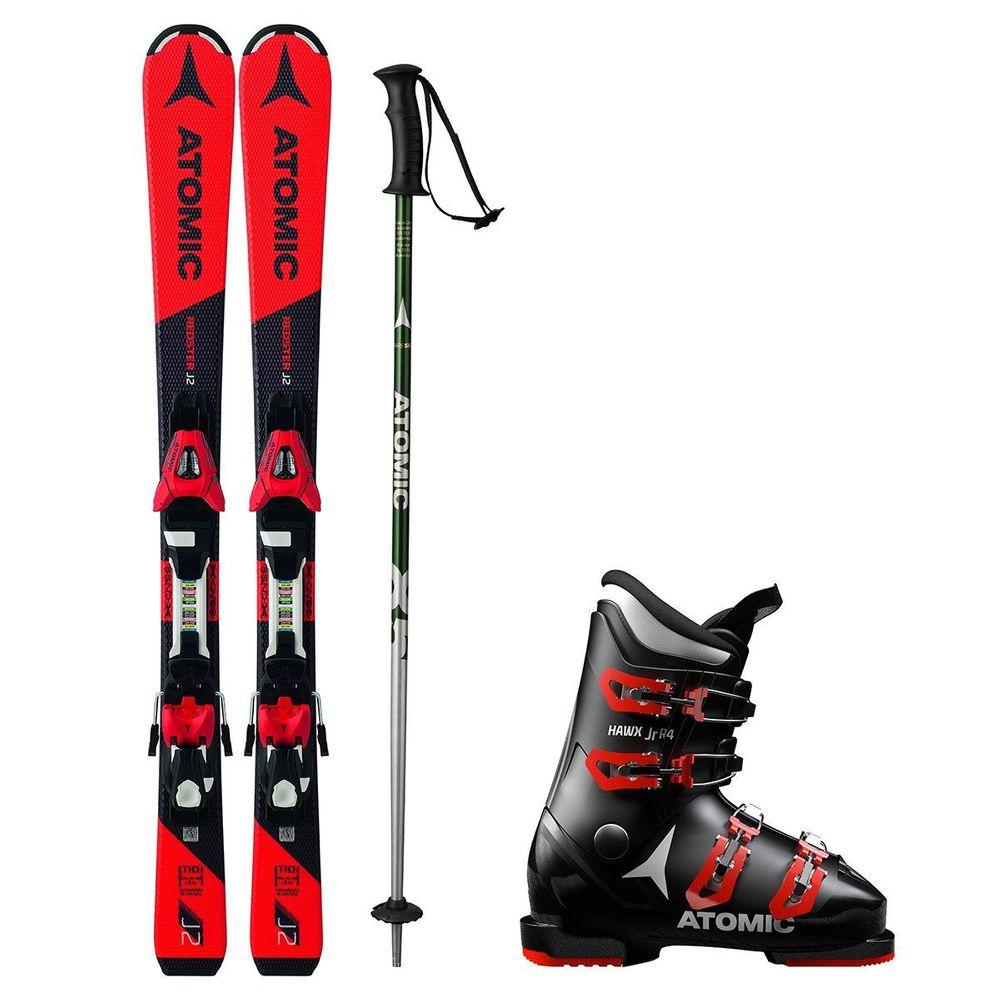Atomic Půjčení lyžařského setu (lyže 110 cm, boty 19.5, hůlky 85, vak)