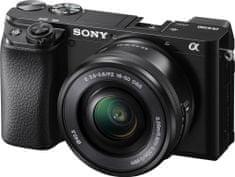 Sony ILCE-6100LB brezzrcalni fotoaparat + SELP1650 objektiv