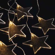 Emos Acrylic Star, 8 LED, 0,8 m