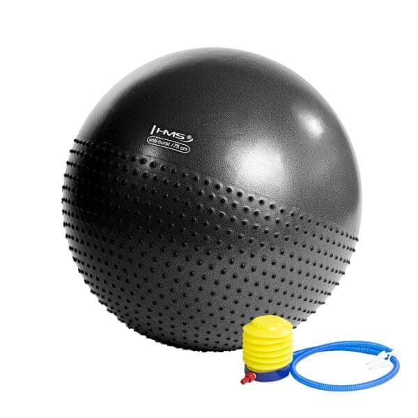 HMS gymnastický míč YB03, 75 cm, černý