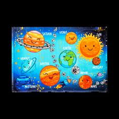 Jutex Detský koberec Torino Kids solar system 1.20 x 0.80