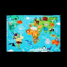 Jutex Detský koberec Torino Kids world map 1.20 x 0.80
