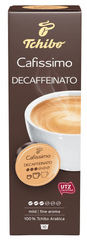 Tchibo kapsułki z kawą Cafissimo Caffé Crema Decaffeinated 8x10 kapsułek
