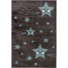 Jutex Detský koberec Playtime 0610A modrý 1.50 x 0.80
