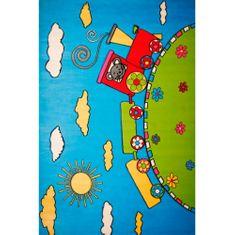 Jutex Koberec Baby 1021A tyrkysová 1.50 x 0.80