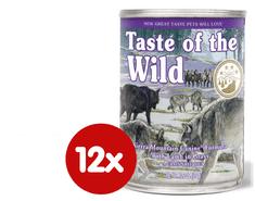 Taste of the Wild mokra karma dla psa Sierra Mountain Canine 12 x 390g