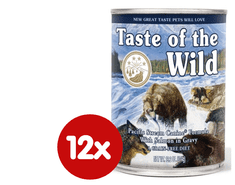 Taste of the Wild Pacific konzerva 12 x 390g