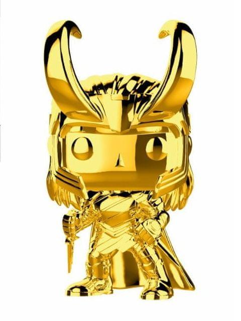 Figurka Marvel - Loki (chrome) (Funko POP! Marvel 376)