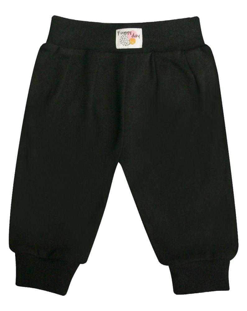 Nini dětské kalhoty 62 černá