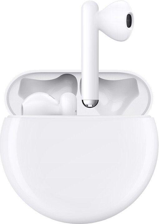 Huawei FreeBuds 3 55031992 bezdrátová sluchátka, bílá