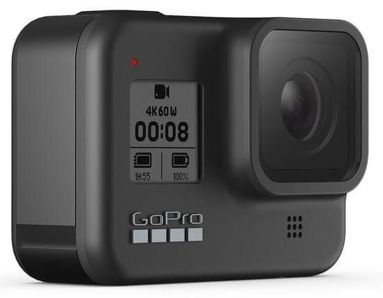 GoPro Hero 8 Black + SD kartica + baterija + Shorty držalo + Headstrap (CHDRB-801)
