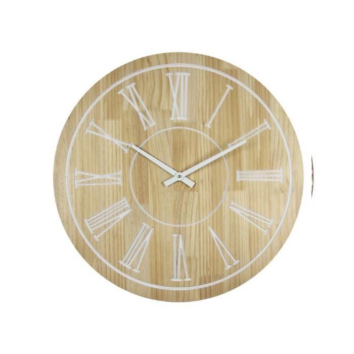 Cdiscount dřevěné hodiny