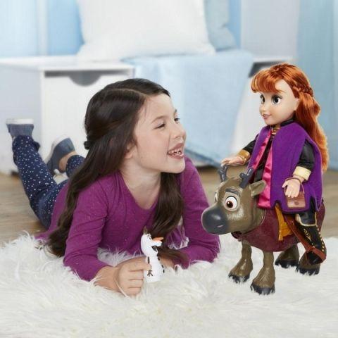 Jakks Pacific Frozen 2: sada panenka Anna a kamarádi
