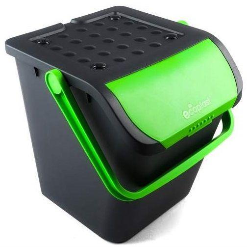 BRILANZ Koš na tříděný odpad ECO 35 l, zelený