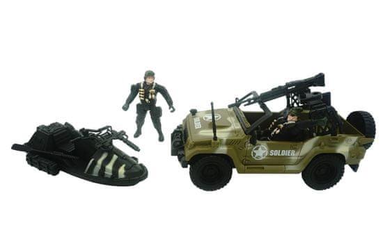 Unikatoy Force 9 vojaški set (25376)