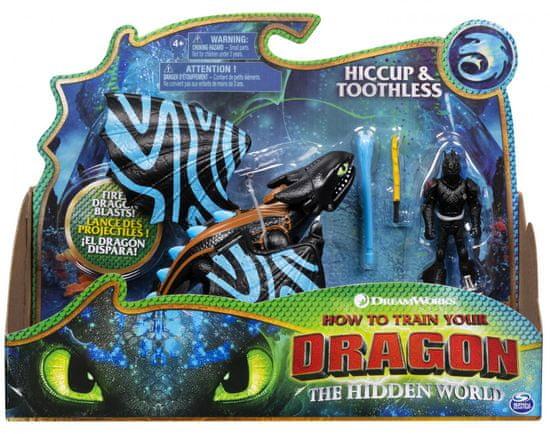 Spin Master Így neveld a sárkányodat 3. sárkány és viking - fekete / kék