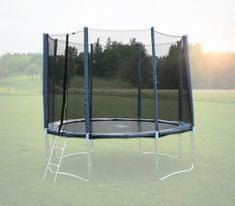 Goodjump Ochranná síť na trampolínu 366 cm - PVC - na 8 trubek- modrá