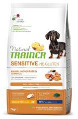 TRAINER Natural SENSITIVE No gluten Adult Mini lazac, 7 kg