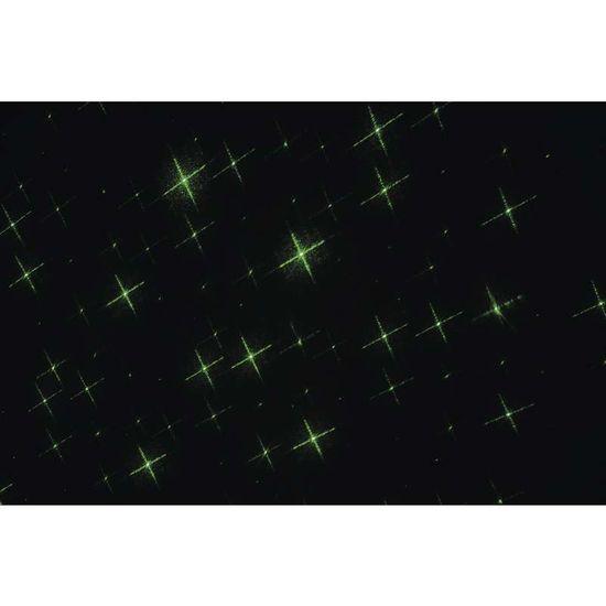 Emos laserski projektor, zvezde, zelene
