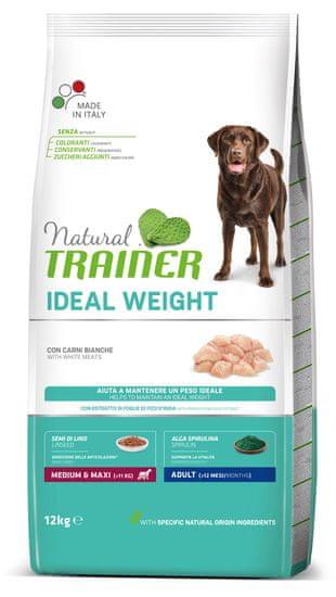 TRAINER Natural Weight Care Adult M/M briketi za pse, perutnina, 12 kg