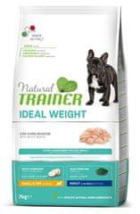 TRAINER Natural Weight Care Mini briketi za pse, perutnina, 7 kg