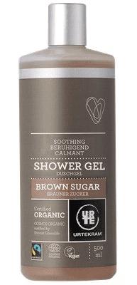 Urtekram Sprchový gel Brown Sugar 500 ml