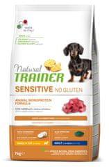 TRAINER Sensitive No Gluten Adult Mini bárány és rizs, 7 kg