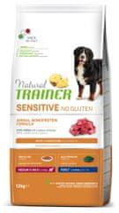 TRAINER Natural SENSITIVE No gluten Adult M/M jahňacie 12 kg