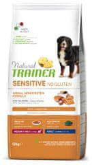 TRAINER Sensitive No Gluten Adult M/M losos 12 kg