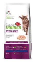 TRAINER Natural Cat Sterilised briketi za sterilizirane mačke, perutnina, 10 kg