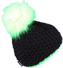 Sherpa czapka dziecięca MAGIC 3 - 6 neon green