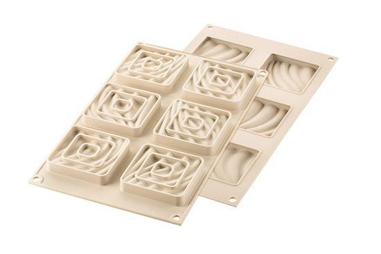 Silikomart Silikonová forma na pečení 3D Mini Tarte Sand