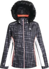 Dare 2b Dámská zimní lyžařská bunda Dare2b COPIUS černá/bílá 32