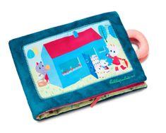 Lilliputiens Textilní knížka - Neposlušná kůzlátka