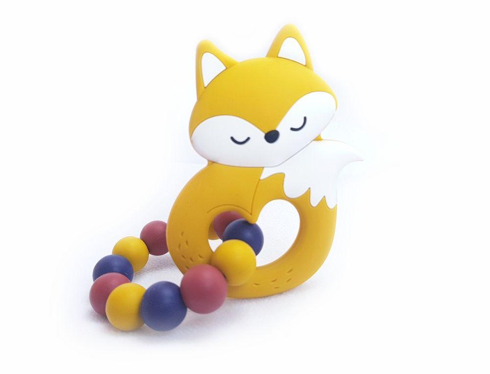 KidPro Silikonové kousátko: Fox