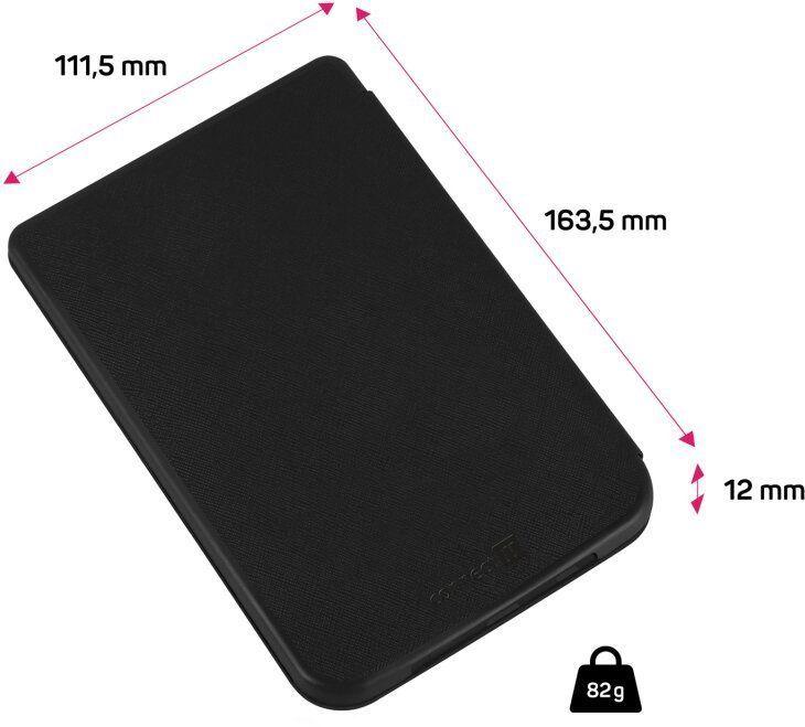 Connect IT Pouzdro pro PocketBook 616/627/628/632, ČERNÉ, CEB-1075-BK