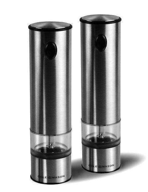 Cole Mason H3004480 Battersea Mlýnek na sůl & Mlýnek na pepř Set 210mm