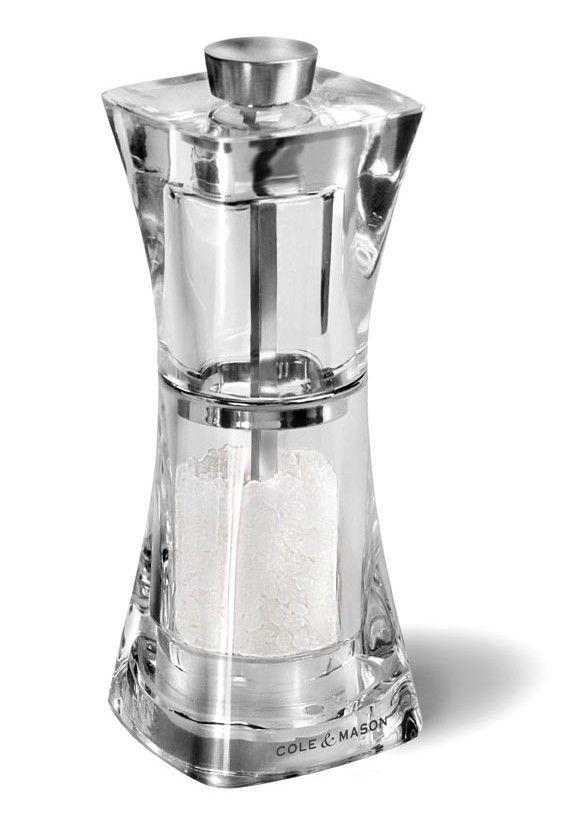 Cole Mason H37402P Crystal Mlýnek na sůl 125mm