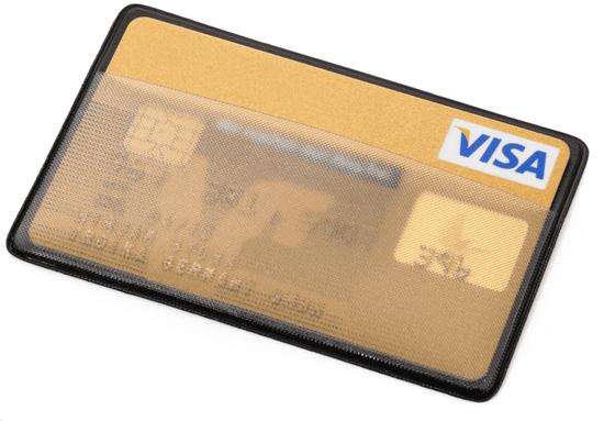 Troika CAS01/BK CardSaver obal na karty čierna