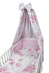 COSING COMFORT 4D-s ágynemű-garnitúra - Bazsarózsa flamingókkal, rózsaszín