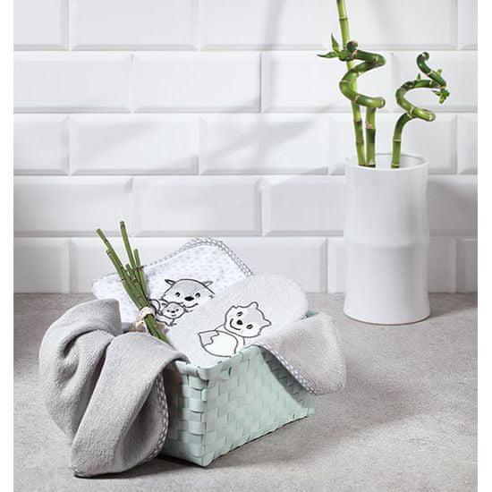 BabyOno bambusowy ręcznik z kapturem 100 x 100 cm