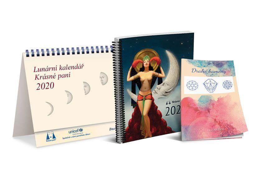 Kanyzová Žofie: Lunární kalendář Krásné paní 2020