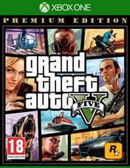 Take 2 Grand Theft Auto V Premium Edition igra, Xbox One