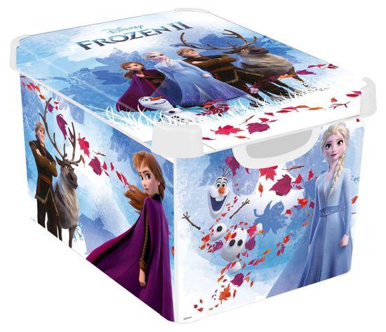 Curver úložný box L Frozen 2