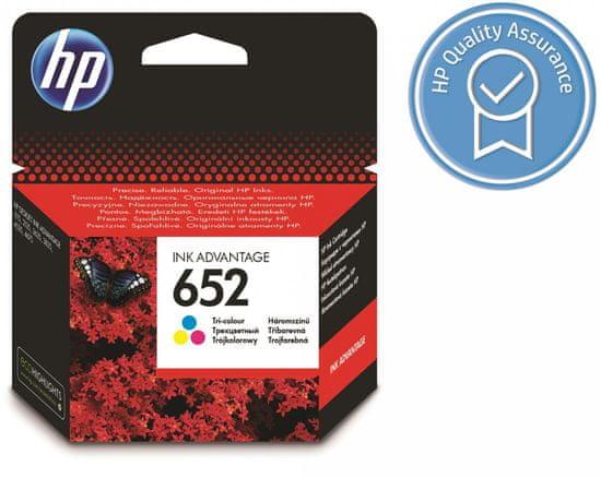 HP kartuša 652 barvna (F6V24AE)