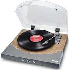 iON Premier LP, stříbrná/dřevo