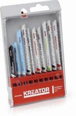 Kreator KRT045090 - 10 ks BD pílových plátkov kombinované použitie